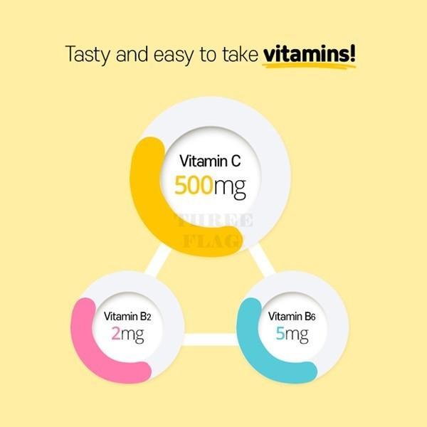 BTS Heart Package Lemona Vitamin C Stick 2gX 70 pieces
