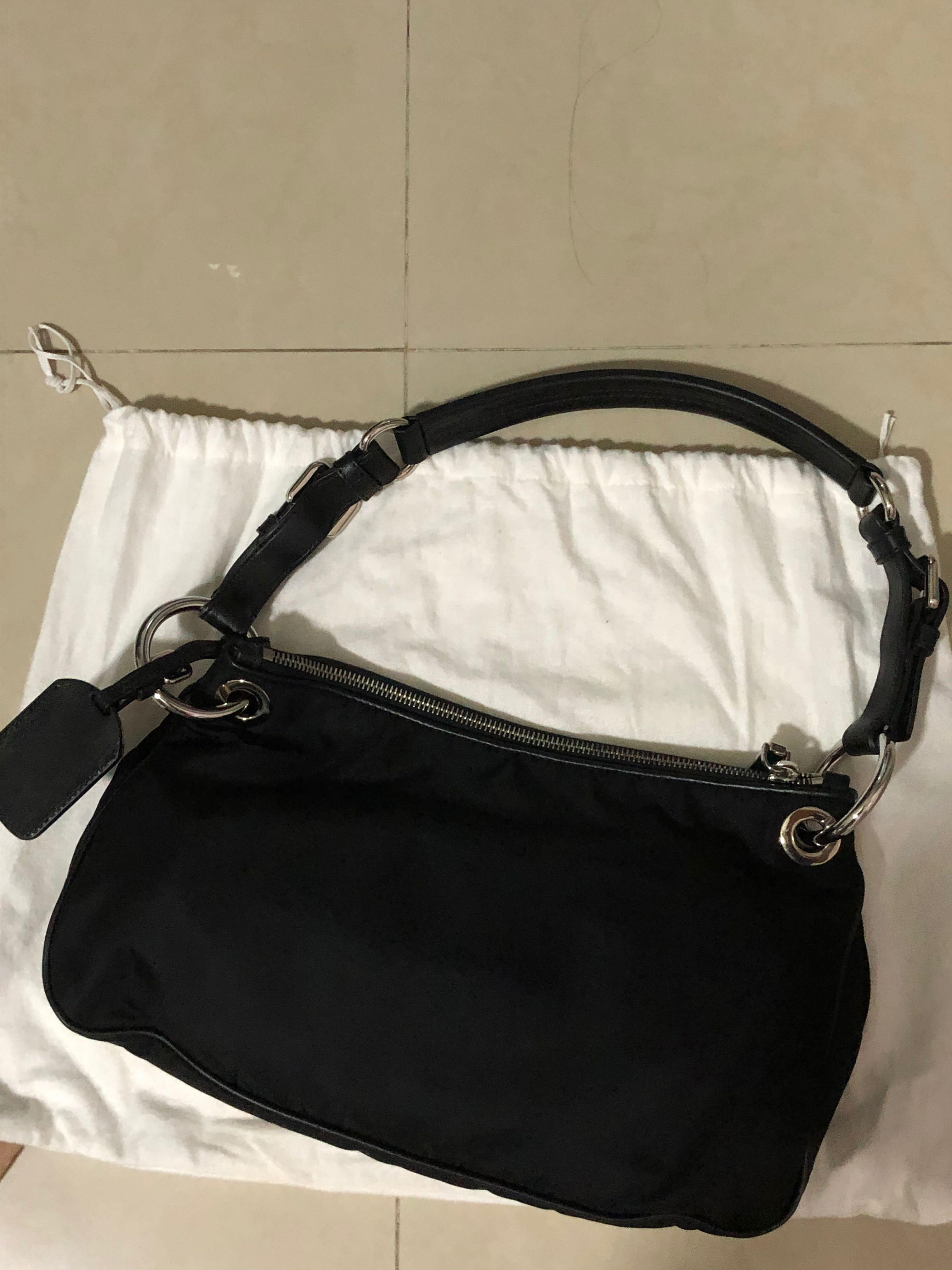 Burberry blue label black Miu Miu pink shopper tote hand crossbody Prada black logo shoulder bag