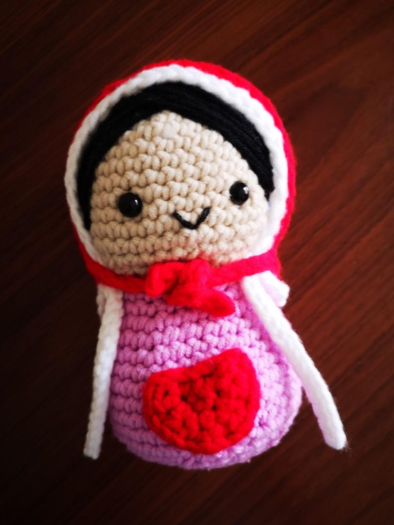 Amigirumi Matryoshka – Russian Nesting Doll (PDF pattern) | Toma ... | 1080x810