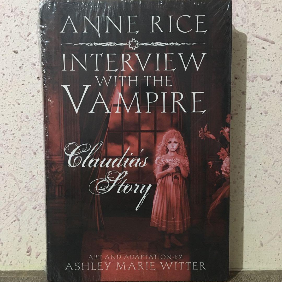 HB • Anne Rice • Interview With The Vampire Claudia's Story • Ashley Marie Witter (graphic novel)