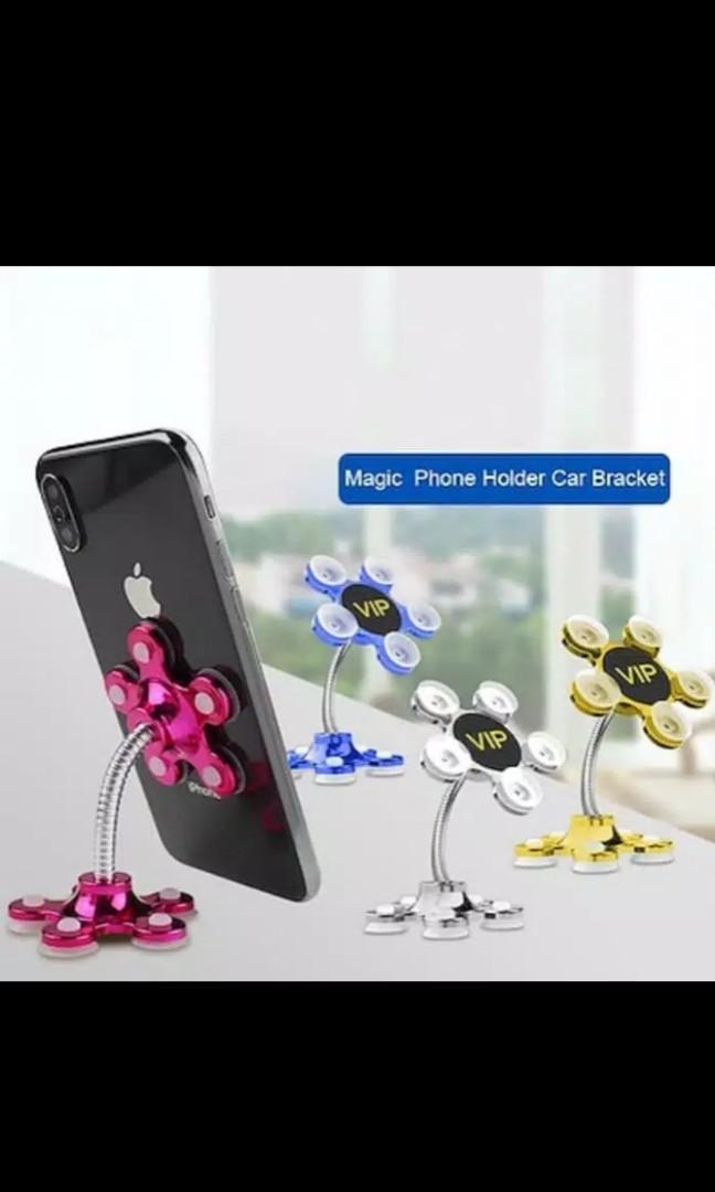 Holder Bunga / Flexible FLOWER Universal Holder / Car Holder / Holder Hp for car , tabble , or glasses