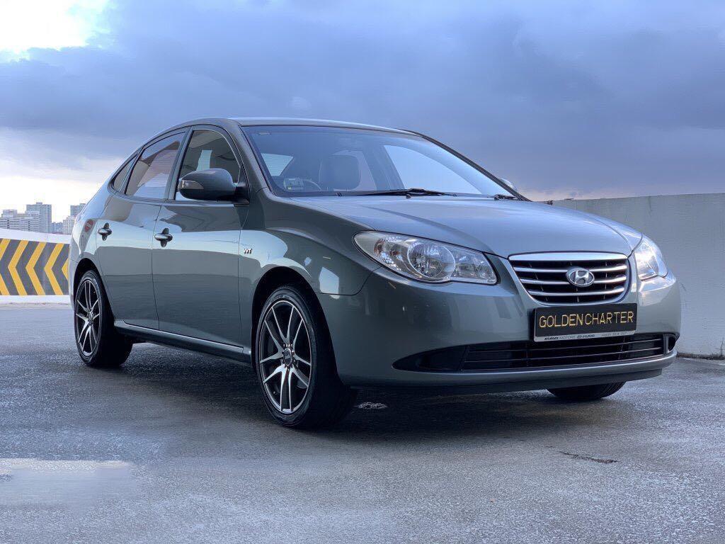 Hyundai Avante 1.6A For Rent! Gojek , Grab , Personal , Private Hire