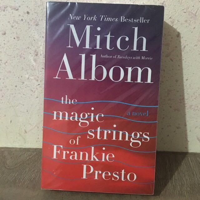 LHB/MMPB • The Magic Strings of Frankie Presto • Tuesdays with Morrie • Mitch Albom