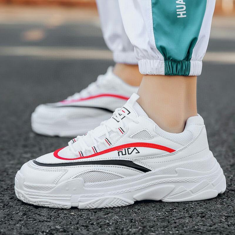 Man Shoe Outdoor Travel Increase Casual Student Shoes Men Fitness Sneaker Trends Boy Running Shoes Sneakers Kasut Sukan