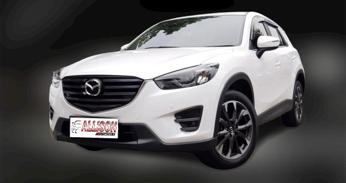 Mazda CX-5 GT 2.5 AT 2015 Putih, SunRoof,Dp 48,9 Jt, No Pol Genap