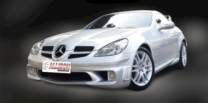 Mercy S-Class SLK 200 AT 2008 Silver Km 18 Rb, Dp 109,9 Jt, No Pol Genap
