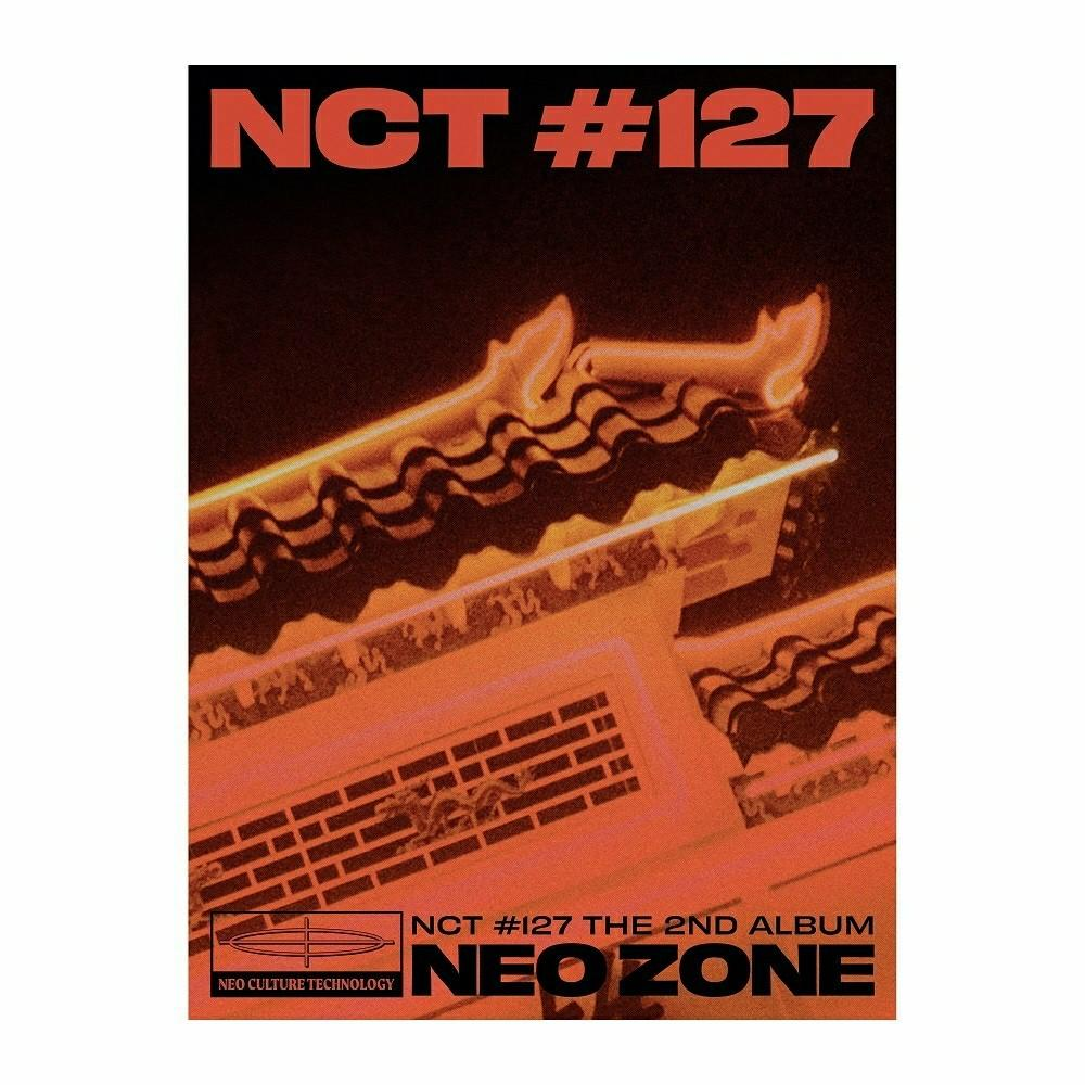NCT 127 - NCT #127 Neo Zone [T ver.] (Vol.2) album readystock