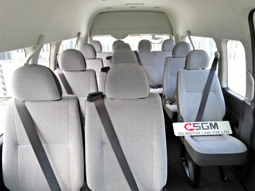 New Toyota Hiace Hi-Roof Commuter GL (2.8A) 14-Seater Bus
