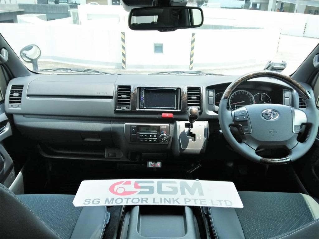 New Toyota Regius Ace Super GL Dark Prime II (2.8A)