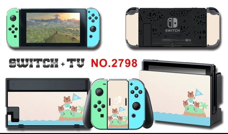 Limited Edition Animal Crossing Nintendo Switch Pvc Protector Sticker Skin Protect Case Console Toys Games Video Gaming Gaming Accessories On Carousell