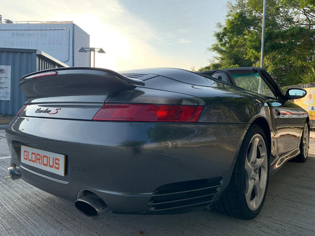 Porsche 911 3.6 Turbo S Manual