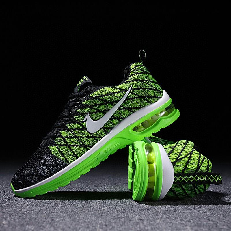 READY STOCK Light Air Cushion Couple Travel Sport Shoes Woman Sneakers Korean Running Shoe Shock Absorption Kasut Sukan
