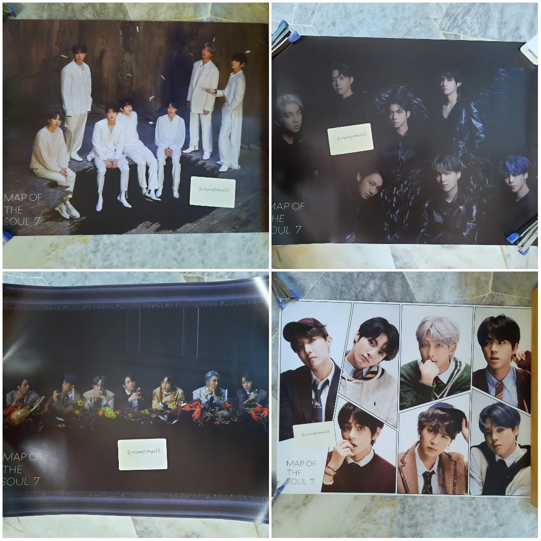 <RS> BTS MAP OF SOUL: 7 OFFICIAL POSTER (LIMITED EDITION)