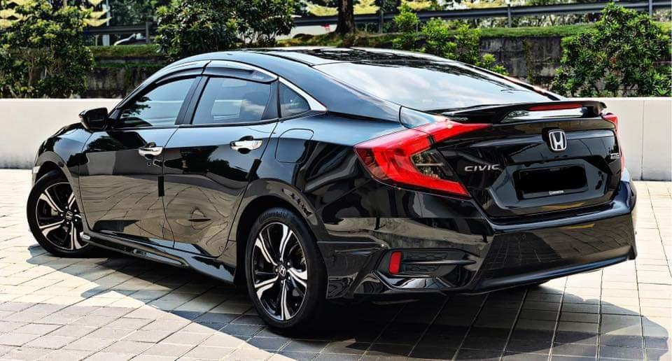 SEWA BELI BERDEPOSIT>>Honda Civic 1.5 Turbo TCP 2017