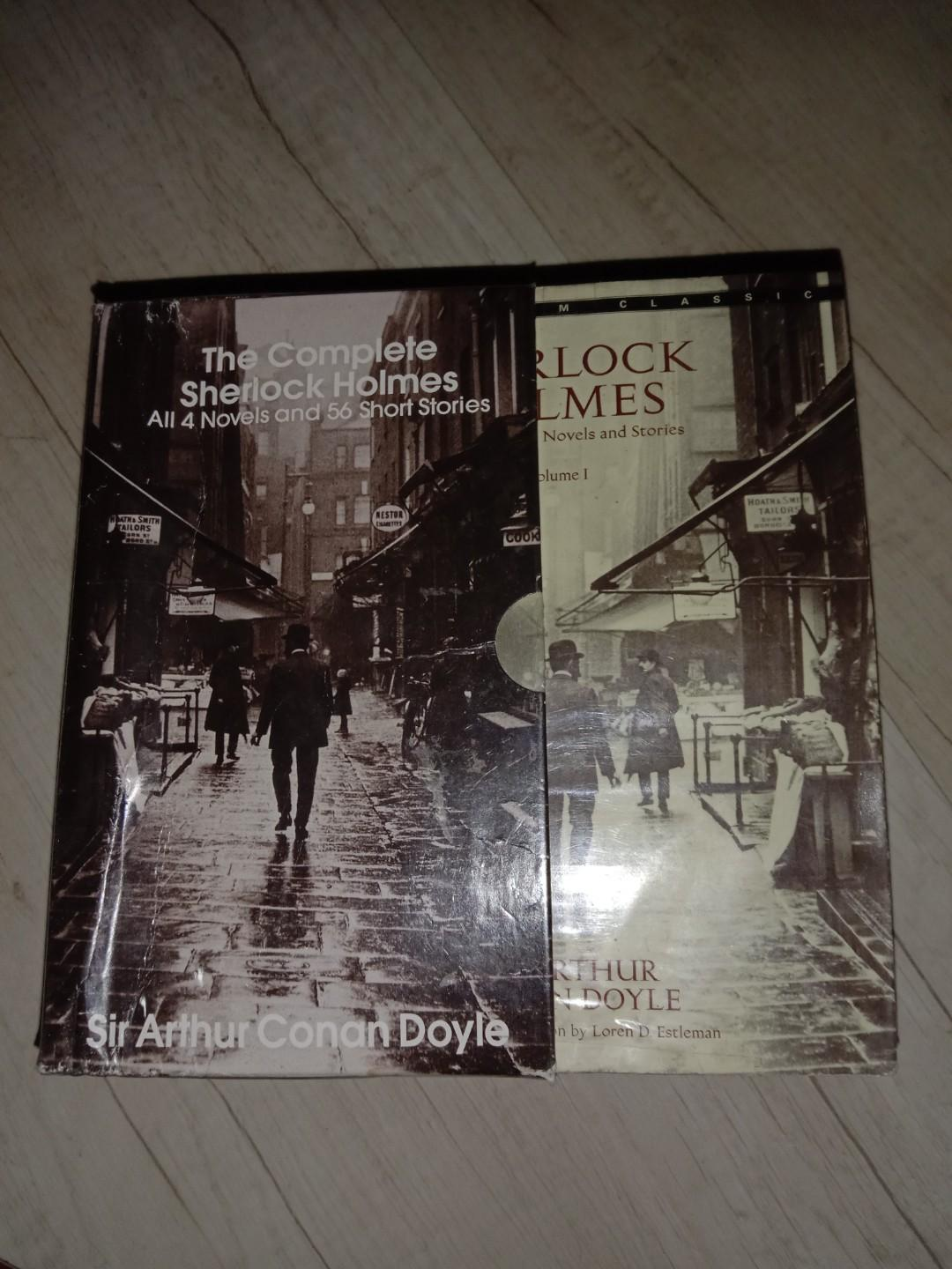 The complete Sherlock Holmes (All 4 novels and 56 short stories) by Sir Arthur Conan Doyle