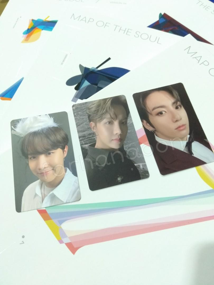 (WTS/LFB) Official BTS MAP OF THE SOUL : 7 PHOTOCARD