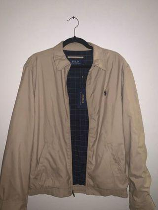 Polo jacket with tags