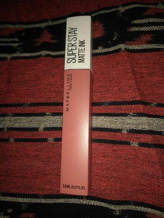 New Maybelline super stay Matte Ink shade self - starter TURUN HARGA!!!