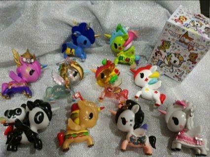 Full Set Tokidoki Unicorno Series 7 unicorn