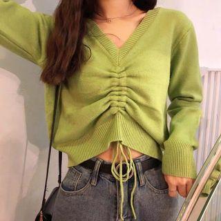 【全新】綠色上衣