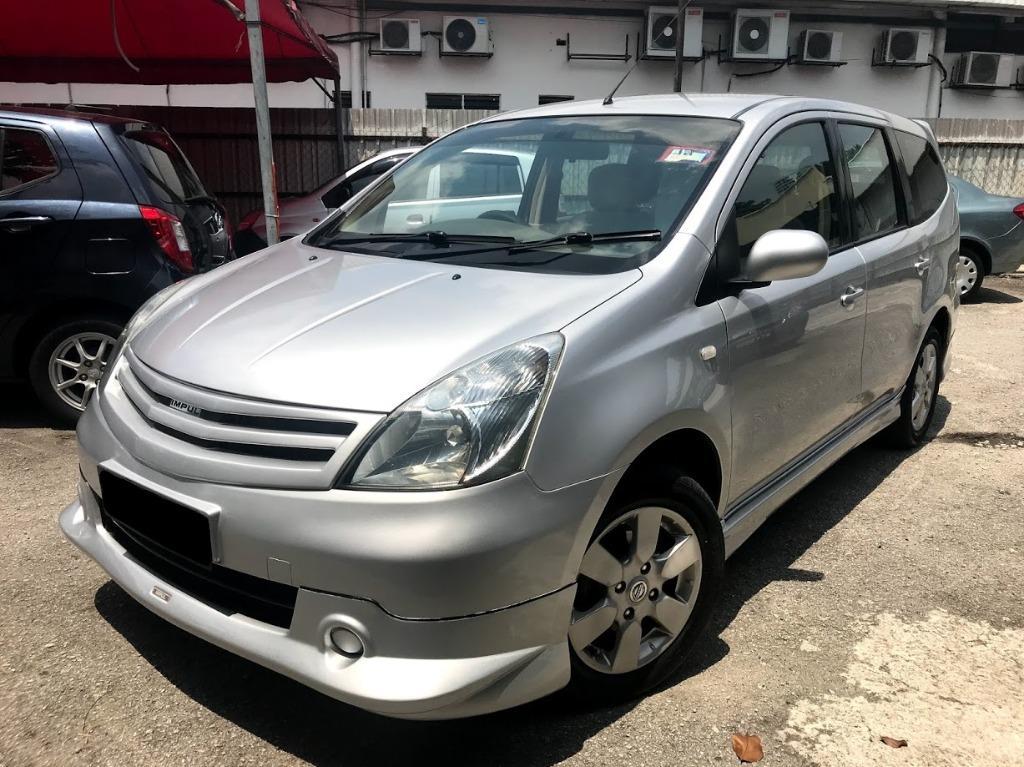 2010 Nissan GRAND LIVINA 1.6 (A) ONE OWNER FULL LOAN