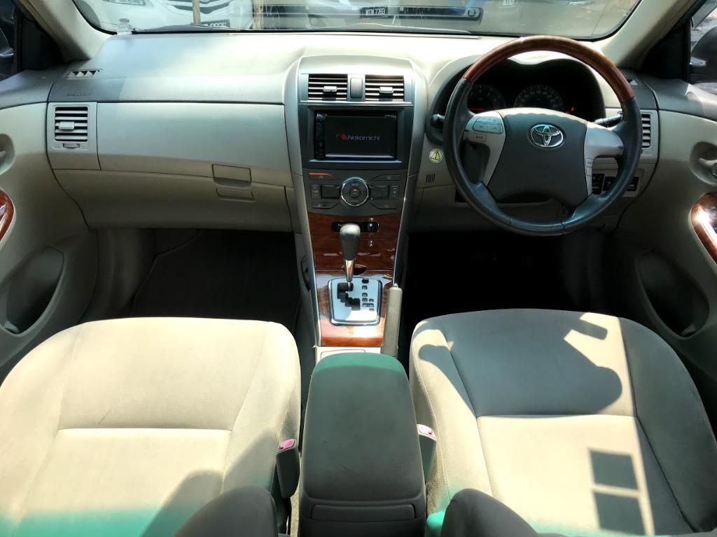 2010 Toyota COROLLA ALTIS 1.8 G (A) VVT-I ENGINE FULL LOAN