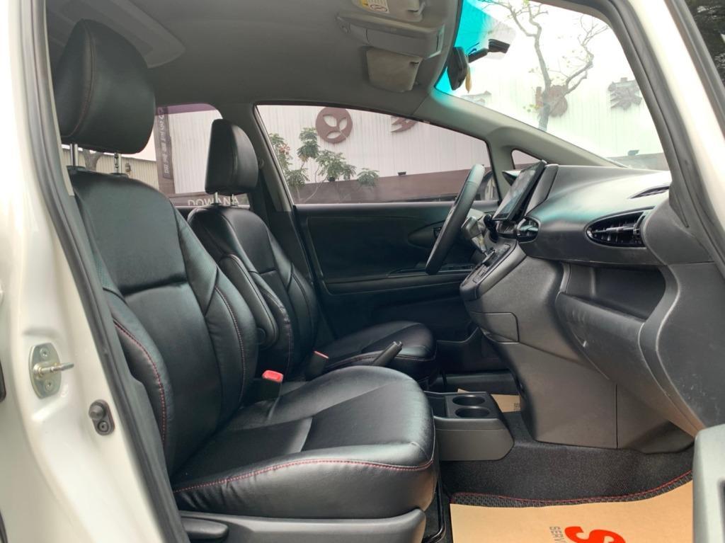 正2010年 最新款Toyota Wish 2.0E 高階皮椅版 原廠星燦白色