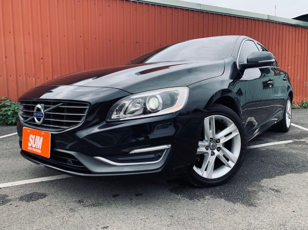 2014年 富豪 Volvo S60 T4 1.6 純自用 一手車 原版件 里程保證 原廠保養 全車無事故 無泡水 非自售 可買車找錢 可超貸