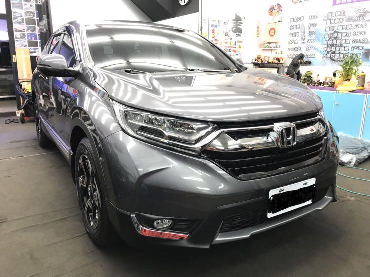 2018年3月底領牌CR-V 5代