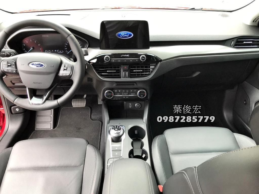 福特原廠認證中古車2019年Ford Focus MK4旗艦頂級款 原廠認證 全台原廠延長保固不限里程