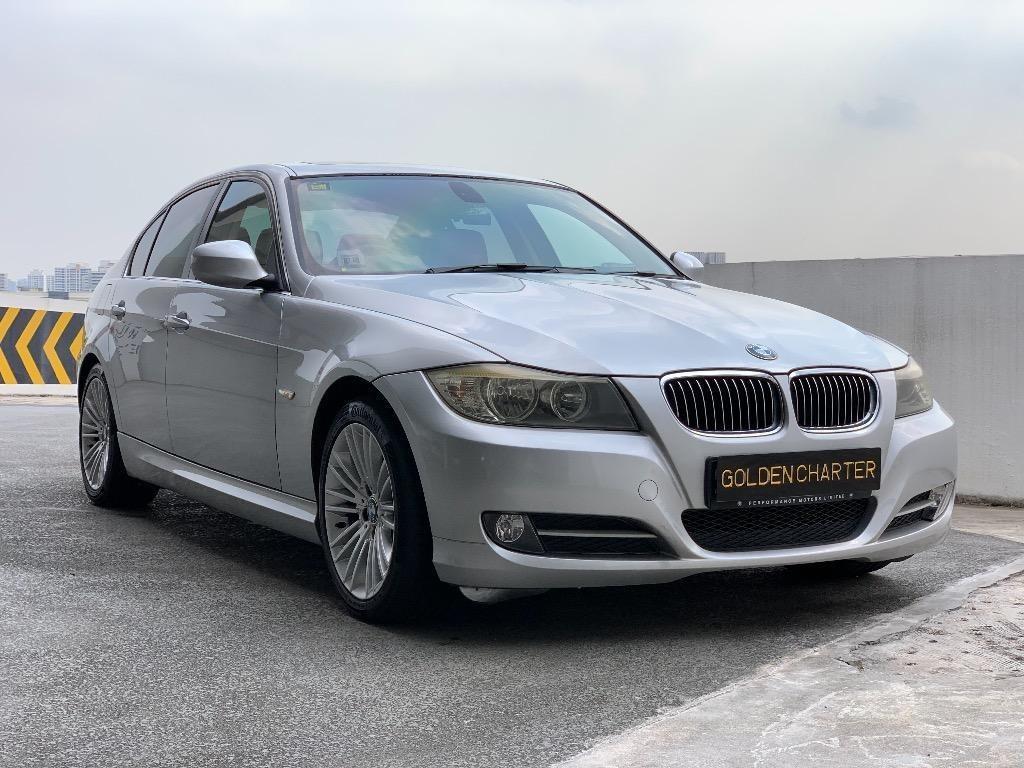 $60 BMW 318i sunroof 4-seater grab continental car Premium BMW Audi Volkswagen Volvo conti car Volkswagen audi Mercedes <price is nett,before gojek rebate>