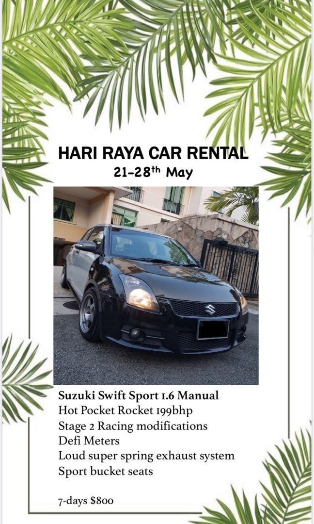 🔥 Hari Raya Deals! Sti, Wrx, Forester, Cs3, Swift Sport, Stream! Best price!