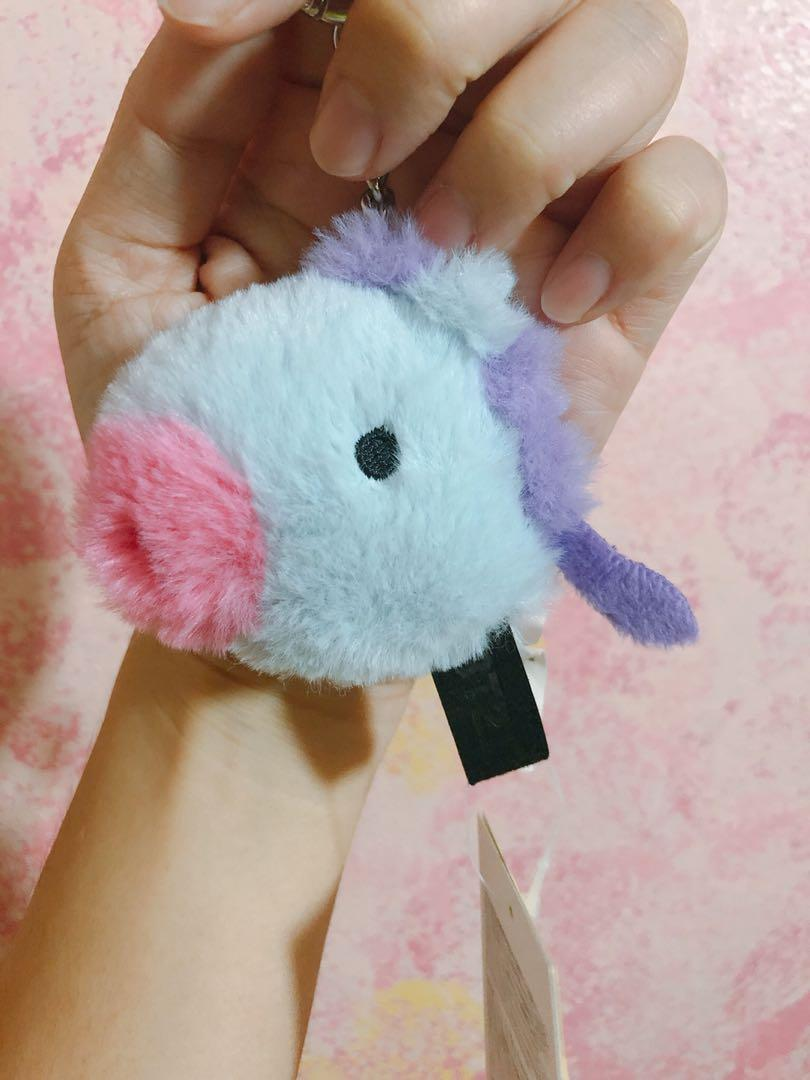 Baby BT21 Face Keyring (Official LINE Merchandise)