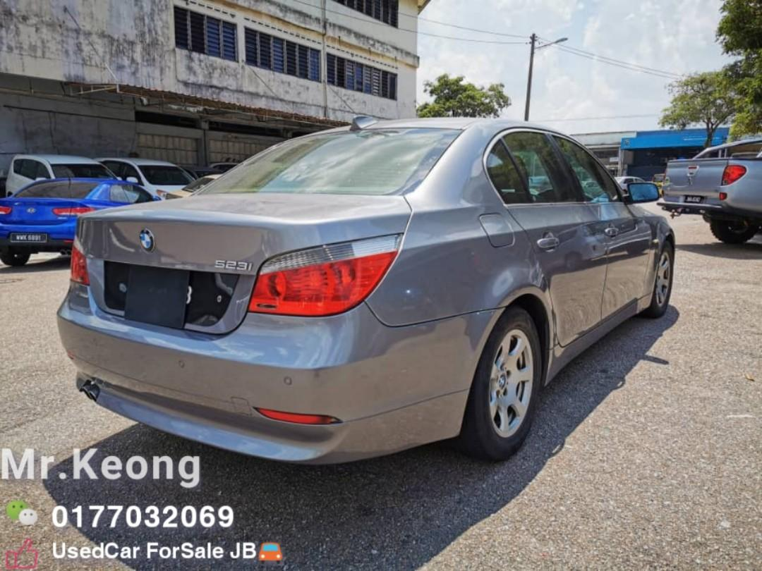 BMW 523I SE 2.5AT E60 2007TH Cash Offer Price Rm30,800 Only🚘Good Condition🚘LowestPrice InJB🎉Call📲KeongForMore🤗