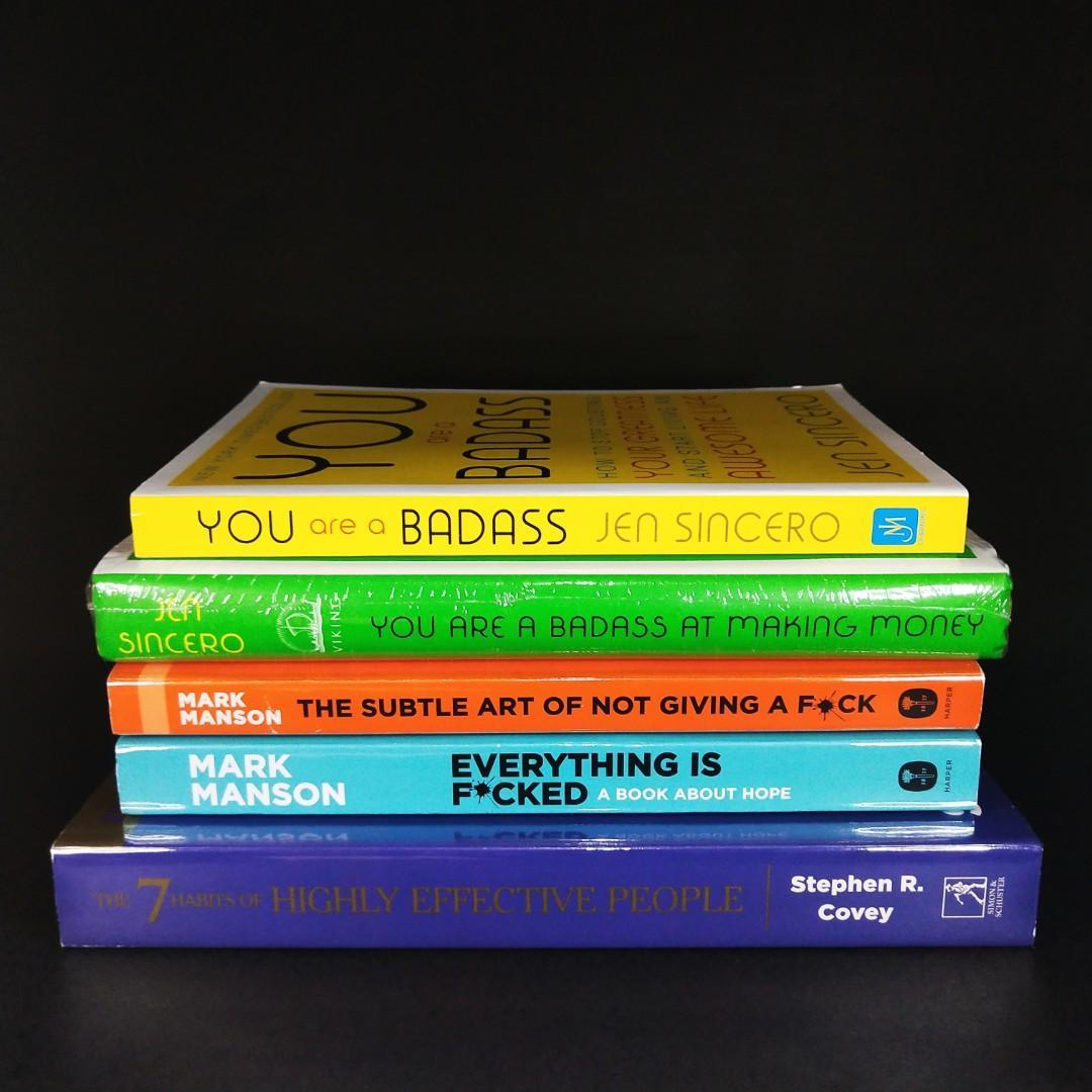 Brand New Self Help Books!!!