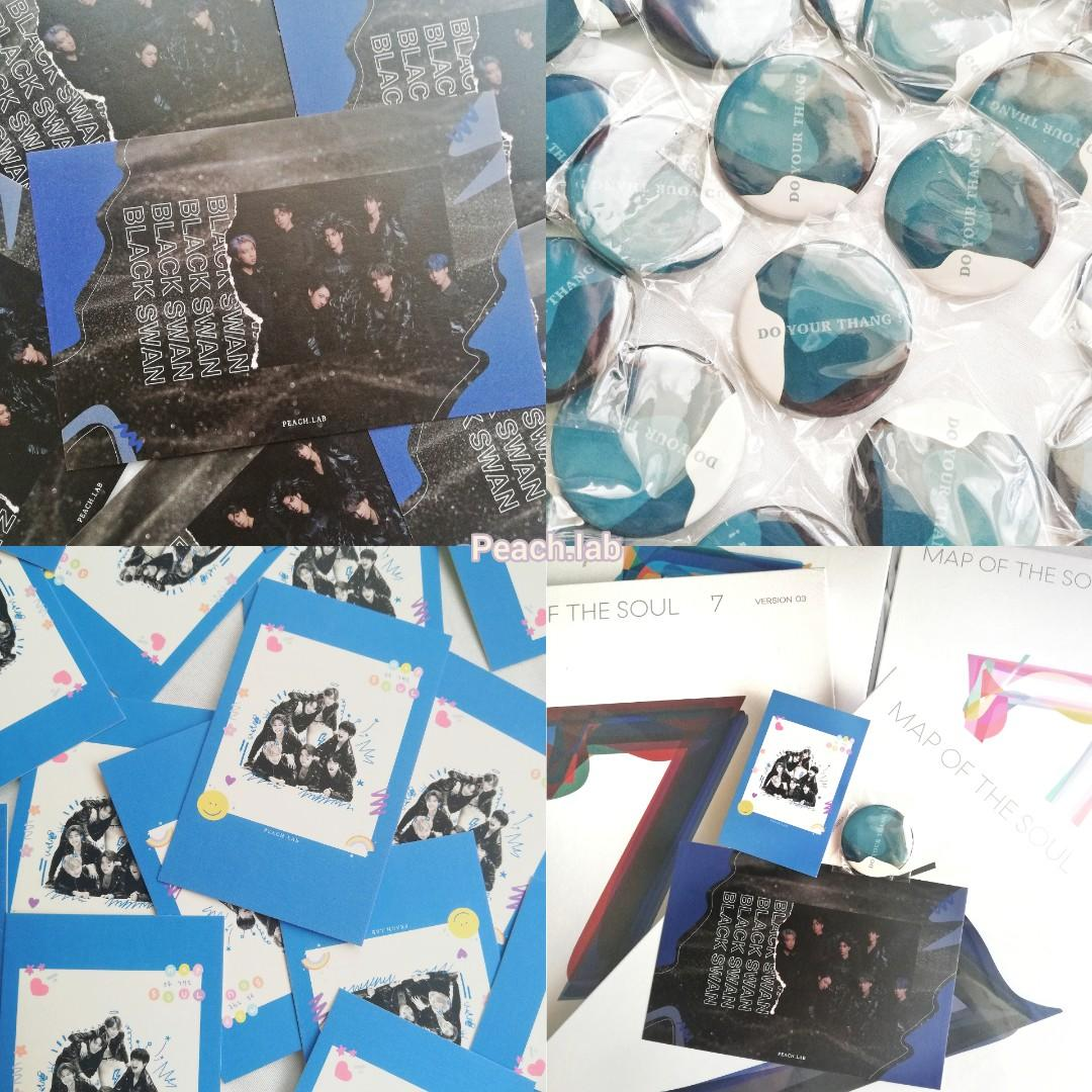 (READY STOCK) BTS MAP OF THE SOUL 7 Album & (Weply PO Benefit + Free Gift From @peachlab)