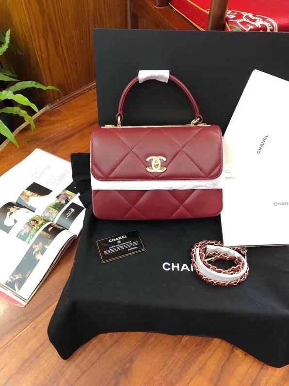 *ReservedLoh* Chanel Chanel Trendy CC Handle Sling Bag Chanel Bag Chanel Flap Chanel Unused Chanel