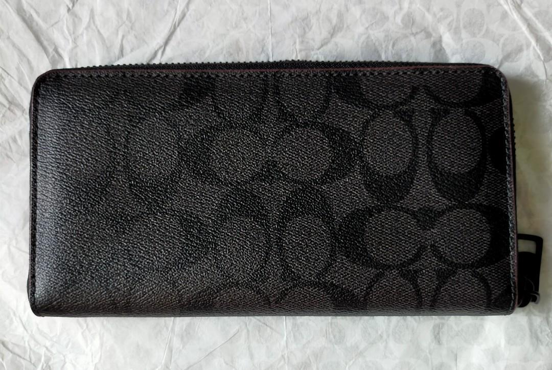 Coach Long Wallet/Coach Wallet/Coach Zip Around Wallet/Coach Accordion Wallet/Coach Women Wallet/Coach Unisex Wallet/Coach Mens Wallet/Long Wallet/Women Wallet/Mens Wallet