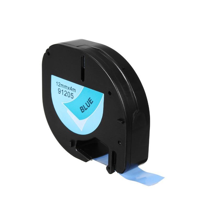 Compatible Dymo LetraTag Labeling Tape LT 91201/12267 Refill 12mmx4m Cassette