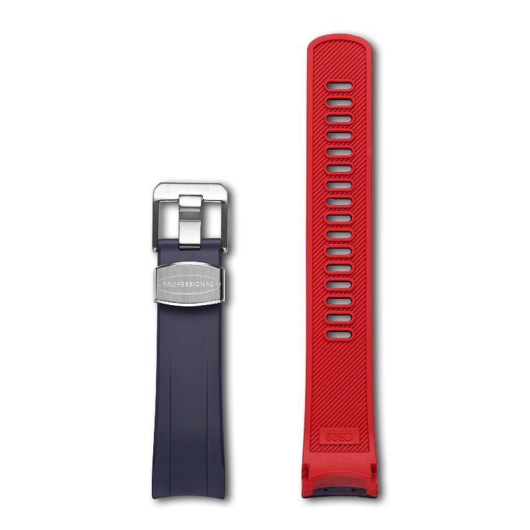 Crafter Blue CB10 (Dual Color) for Seiko SKX & Sports 5 (Navy Blue/Red, Black/Red)