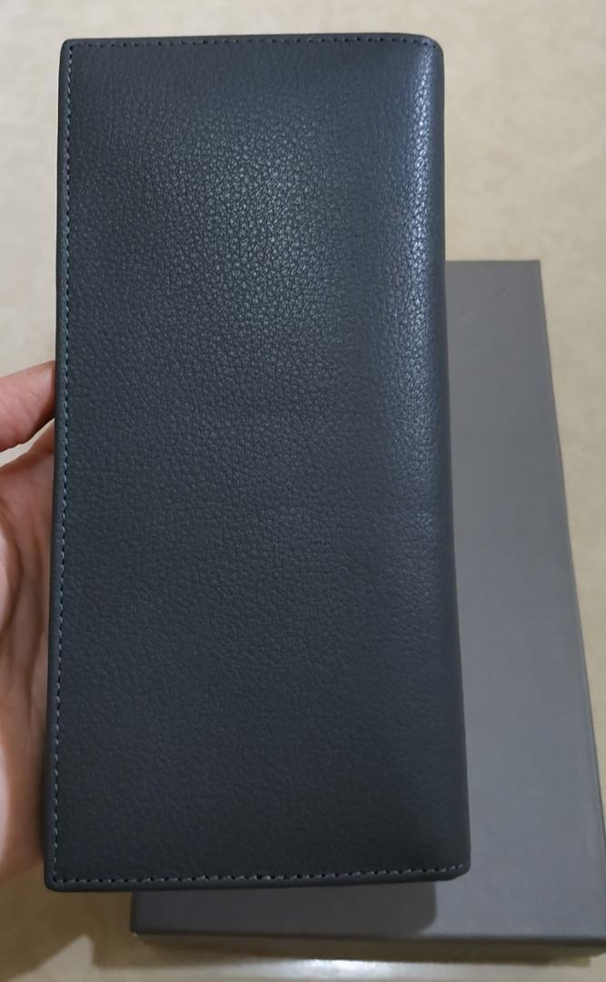 Dompet Panjang Pria Hush Puppies Original RFID Protection Johnie Long Wallet Grey