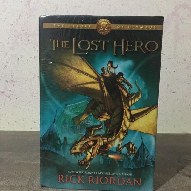 HB • Rick Riordan • The Hidden Oracle • The Throne of Fire (GN) • The Lost Hero • PJ's Greek Gods
