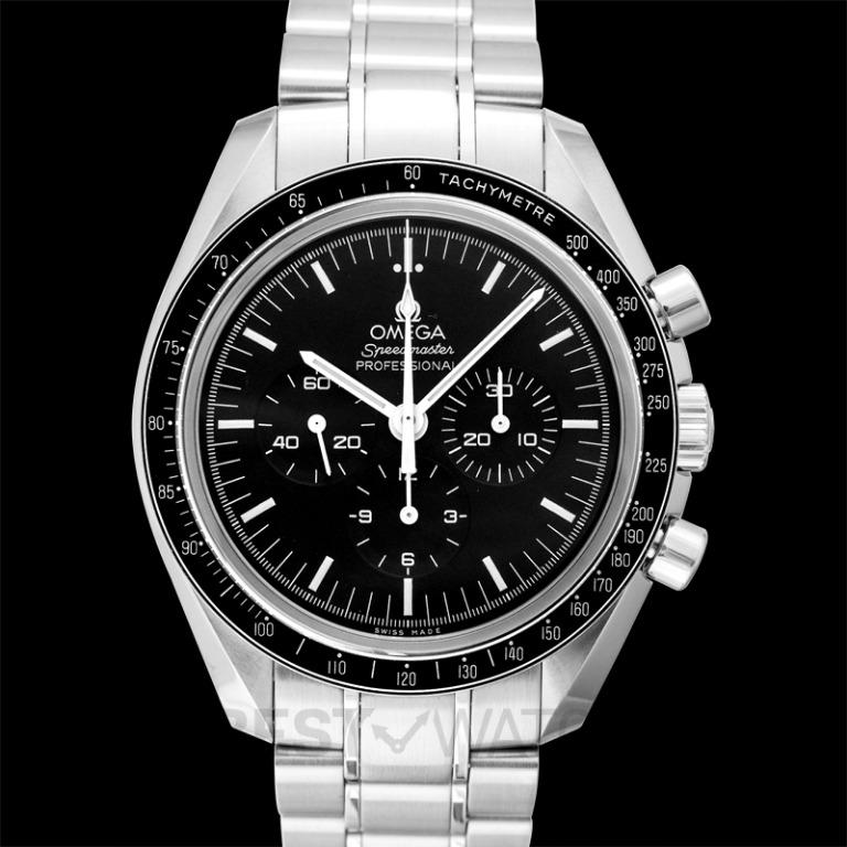 [NEW] Omega Speedmaster Moonwatch Professional Chronograph 42 mm Manual-winding Black Dial Stainless Steel Men's Watch 311.30.42.30.01.006
