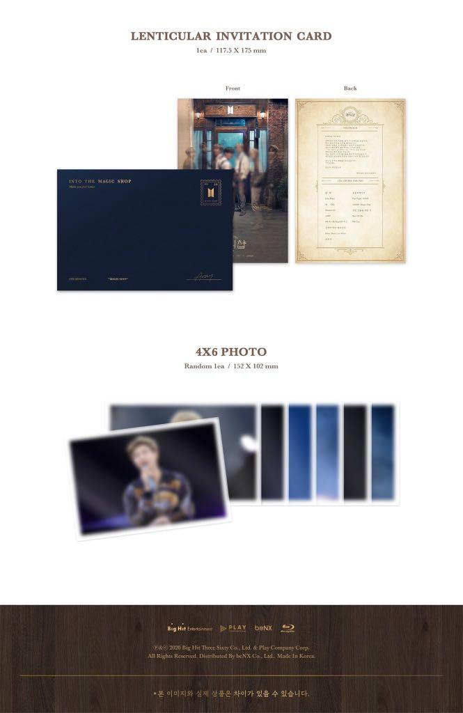 [PO/LOOSE Item] BTS 5th Muster [MAGIC SHOP] Blu Ray