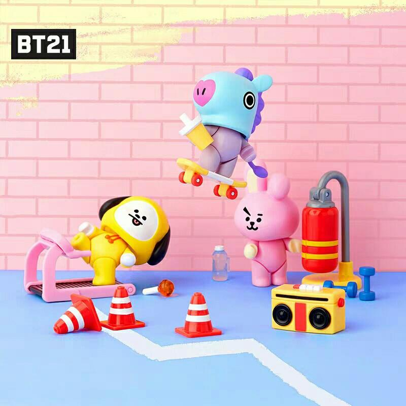 [PREORDER] BTS BT21 Base Camp Theme Collectible Figure Blind Pack Vol. 1