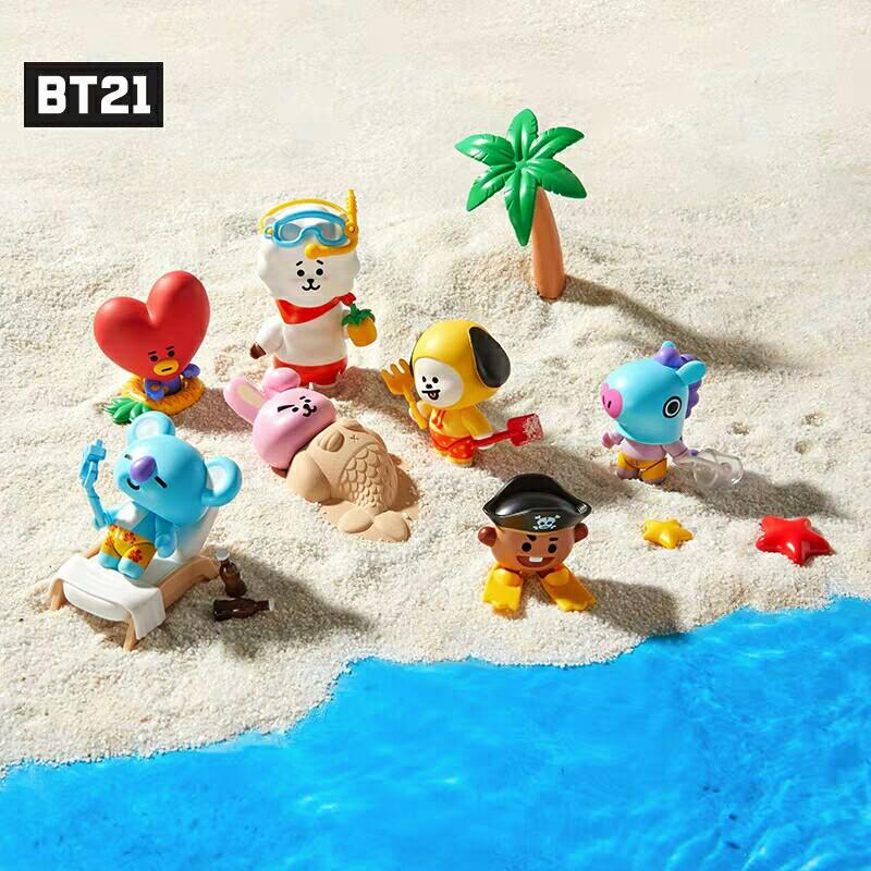 [PREORDER] BTS BT21 Summer Vacation Collectible Figure Blind Pack Vol. 2