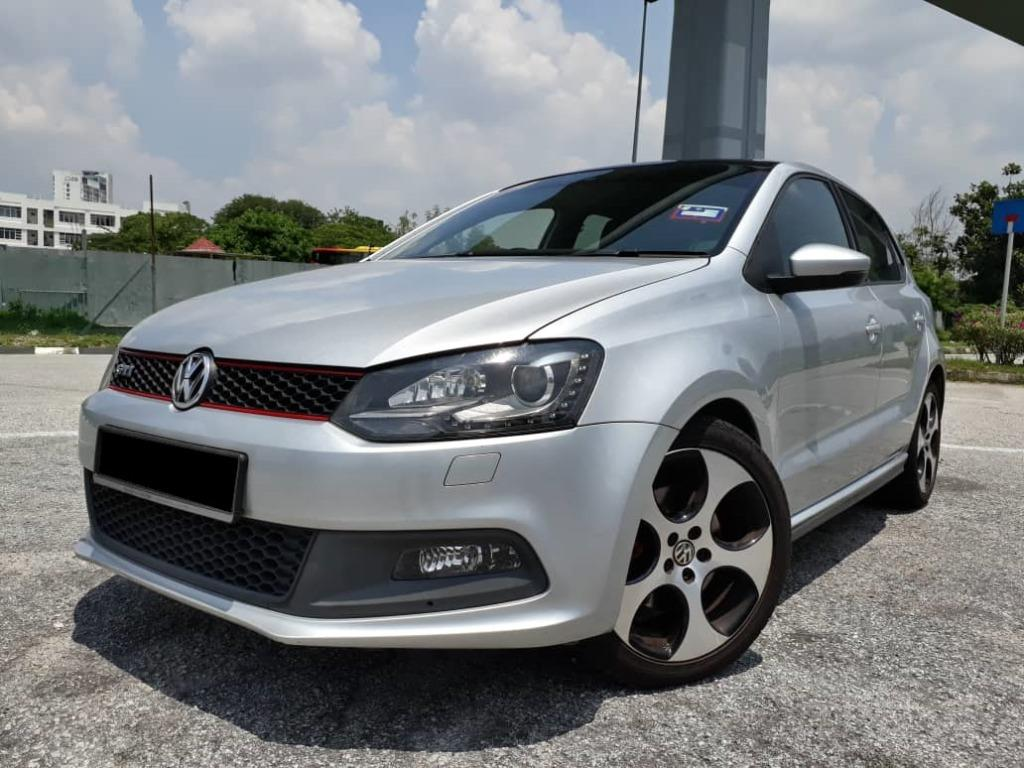 RM50800 VW POLO 1.4 (A) GTI FULL SERVICE RECORD BY VW 1 LADY OWNER SUPER LOW MILEAGE ACC FREE RAYA PROMOTION.