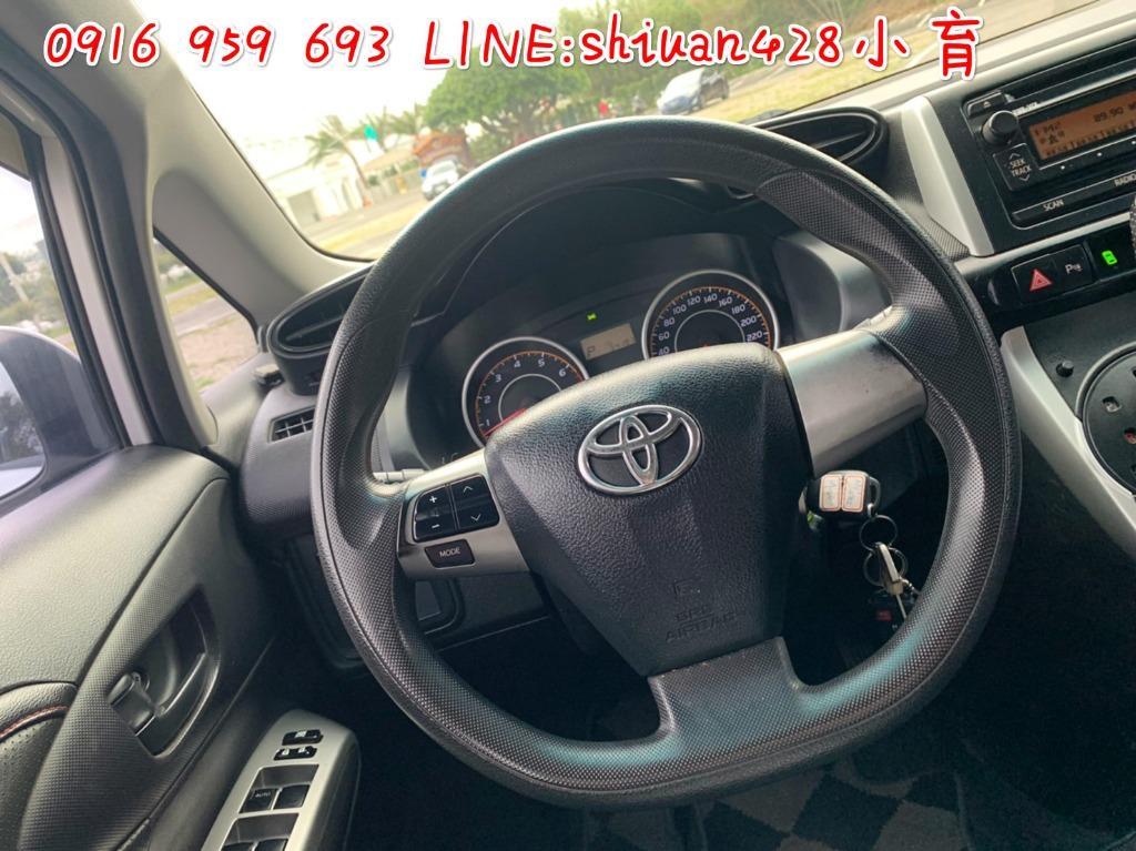 【廠牌】:Toyota 豐田  【車種】:WISH -七人座