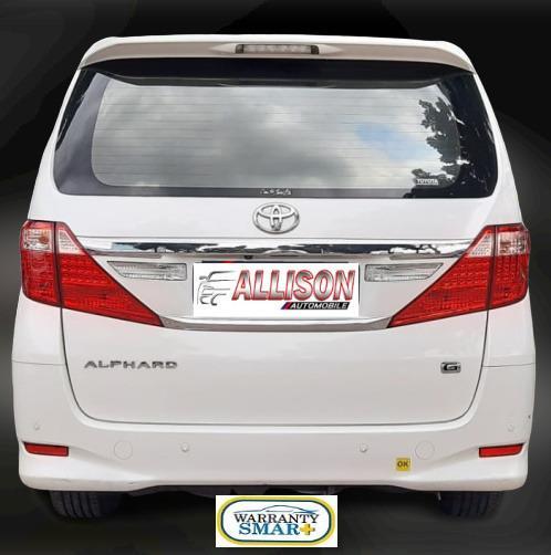 Toyota Alphard G AT 2.4 Putih Km 51 Rb Dp 93,9 Jt, No Pol Ganjil