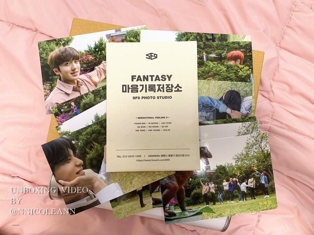 UNBOXING VIDEO SF9 OFFICIAL 3RD FANTASY FANCLUB KIT - HOLIDAY FANTASIA